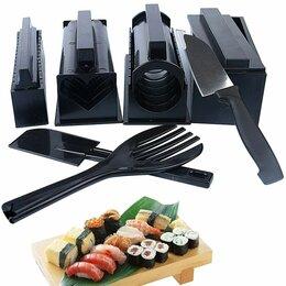 Аксессуары для готовки - Набор для приготовления роллов черный, 0