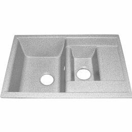Кухонные мойки - Кухонная мойка R30 двойная серебро, 0