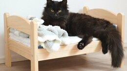 Лежаки, домики, спальные места - Кроватка для кошек, 0