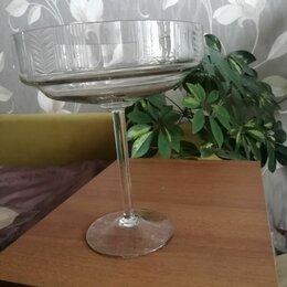 Вазы - Вазочка на высокой ножке стекло ссср, 0