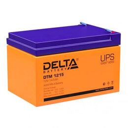 Аккумуляторные батареи - АКБ для электромобиля Дельта 1215, 0