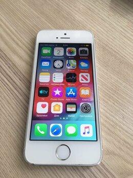 Мобильные телефоны - iPhone 5s -16 gb, silver оригинал, 0