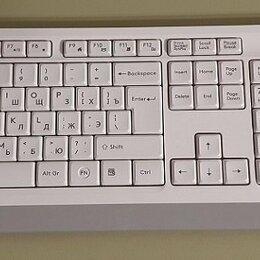 Комплекты клавиатур и мышей - Клавиатура и мышь A4Tech FG1010 White USB, 0