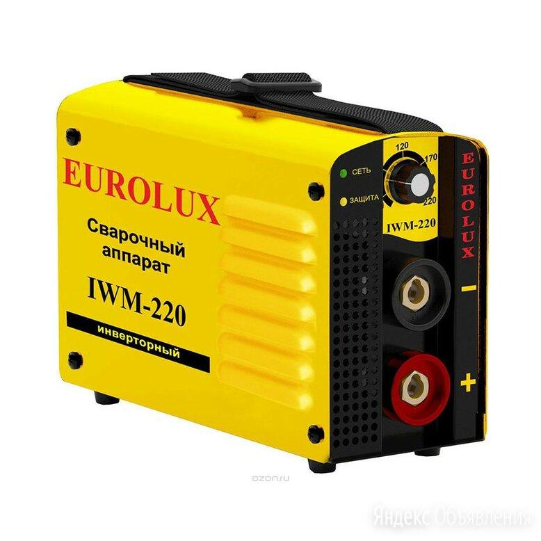Сварочный аппарат инверторный IWM220 Eurolux по цене 5830₽ - Сварочные аппараты, фото 0