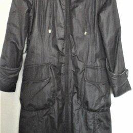 Пальто - Пальто стильное, с велюровым подкладом, р. 48-50, 0