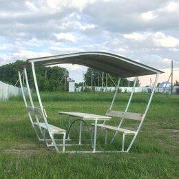 Комплекты садовой мебели - Беседки дачные со столиком и лавочками Вышний Волочек, 0