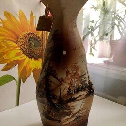 """Вазы - Керамическая напольная ваза """"Мадра"""" 39 см, 0"""