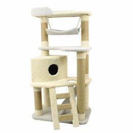 Когтеточки и комплексы  - Домик для кошки, новый игровой комплекс, 0