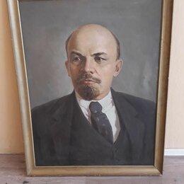 Картины, постеры, гобелены, панно - Портрет В.И.Ленина, 0