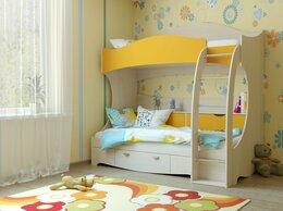 Кроватки - Кровать детская двухъярусная КР-1, 0