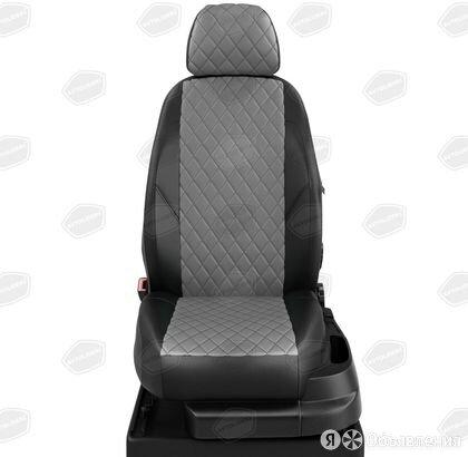 Чехлы на сидения Mitsubishi Lancer 2007 2011 Черный/Темно-серый (арт.MI18-040... по цене 8700₽ - Интерьер , фото 0