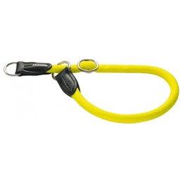 Ошейники  - Hunter Ошейник-удавка Freestyle Neon 50/10 Желтый, 0