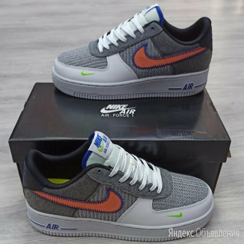 Кроссовки унисекс Nike Air Force 1 Low по цене 5000₽ - Кроссовки и кеды, фото 0