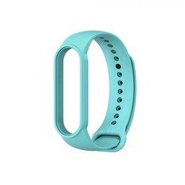 Ремешки для часов - Ремешок силиконовый для Mi Band 5 - бирюзовый, 0