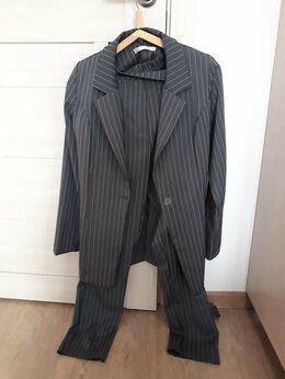 Костюмы - Брючный костюм с поясом, 0