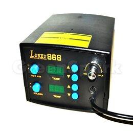 Электрические паяльники - Термовоздушная паяльная станция Lukey 868, 0