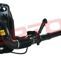 Воздуходувки и садовые пылесосы - Воздуходувка бензиновая VERTON BW80 (ранцевая), 0