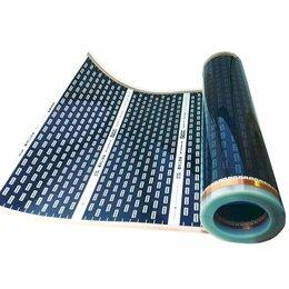 Электрический теплый пол и терморегуляторы - Инфракрасный теплый пол 220 вт/м2 1 м ширины, 0