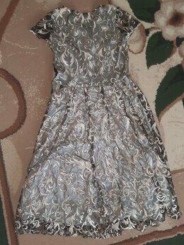 Платья - Платье-миди для вечеров, 0