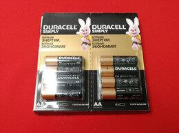 Батарейки - Батарейка Duracell LR6 18BL (18/180) цена за 1 шт, 0