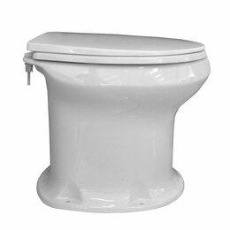 Унитазы, писсуары, биде - Унитаз дачный Оскольская Керамика с сиденьем Элисса-Н, 0