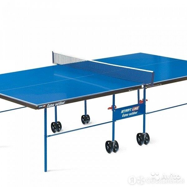 Теннисный start line game outdoor синий по цене 19500₽ - Настольные игры, фото 0