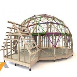 Игрушечная мебель и бытовая техника - Купольный дом конструктор D13, 0