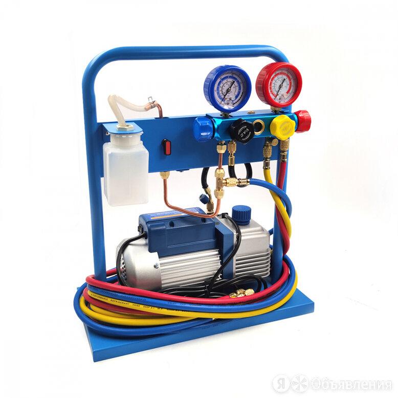 Комплект для заправки кондиционеров ода сервис AC-3014 compact по цене 29999₽ - Аксессуары и запчасти, фото 0