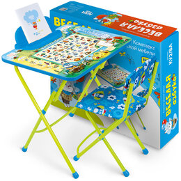Походная мебель - Набор складной мебели (стол + стул) Nika kids…, 0