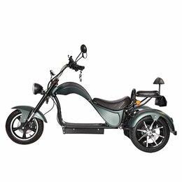 Мото- и электротранспорт - Электроскутер Skyboard Trike Chopper , 0