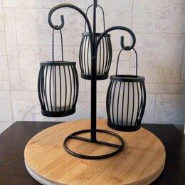 Ночники и декоративные светильники - Светильник подсвечник настольный, 0