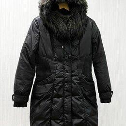Пуховики - Пальто женское, черное, S-L, 0