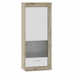 Кровати - Шкаф-витрина - 71280121 ГЕНЕЗИС шкаф навесной(витрина), 0