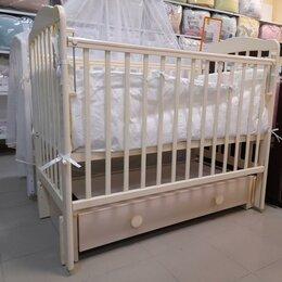Кроватки - Кровать детская Barney-3. Слоновая кость. /Новая/., 0
