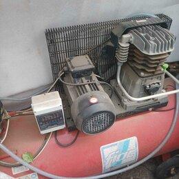 Воздушные компрессоры - Компрессор фиак 220 вольт двухпоршневой, 0
