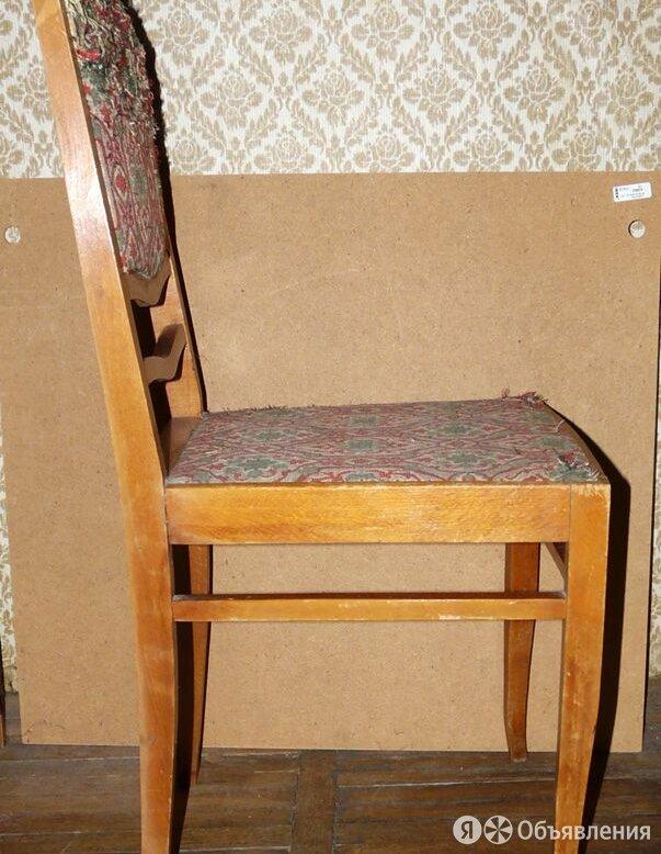 Симпатичный стул под реставрацию, СССР по цене 250₽ - Стулья, табуретки, фото 0