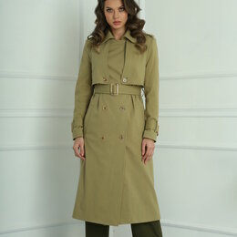 Одежда и обувь - Плащ 13926 SANDYNA весенне-зеленый Модель: 13926, 0