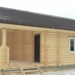 Готовые строения - Сруб дом баня из оцилиндрованного бревна, 0