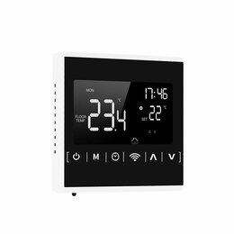 Электрический теплый пол и терморегуляторы - Терморегулятор с Wi-Fi управлением 1823 для отопления и теплого пола, 0