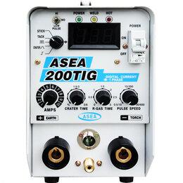 Сварочные аппараты - Сварочный аппарат Inverter DC TIG ASEA-TIG200, 0