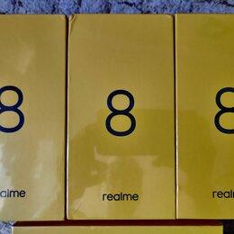 Мобильные телефоны - Новые Realme 8 6\128Гб NFC, 0