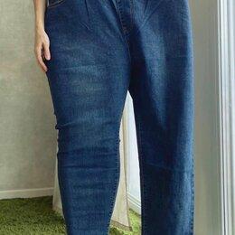 Джинсы - Широкие джинсы капри, 0