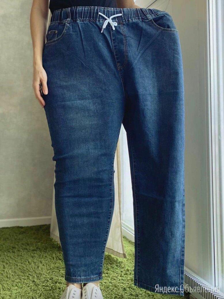 Широкие джинсы капри по цене 950₽ - Джинсы, фото 0