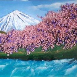 Картины, постеры, гобелены, панно - Прогулка под цветущей сакурой, 0