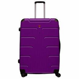 Чемоданы и аксессуары к ним - Чемодан Средний Луида Фиолетовый, 0