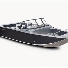 """Моторные лодки и катера - Лодка Volzanka 50  Fish"""" с мотором Yamaha F70 AETL, 0"""