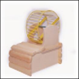 Игрушки и декор  - Домик с колесом(D-12) для грызунов , 0