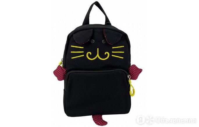 Рюкзак детский черный 8603 Артикул: 14840-27 по цене 600₽ - Рюкзаки, ранцы, сумки, фото 0