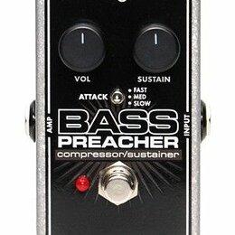 Горные лыжи - Electro-Harmonix (EHX) Bass Preacher басовый эффект - компрессор, 0