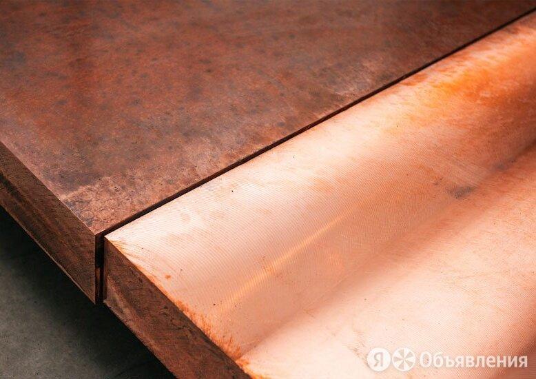 Плита бронзовая 22х600х1500 мм БРОФ 7-0,2 по цене 808₽ - Металлопрокат, фото 0
